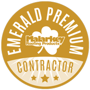 Malarkey Emerald Premium Contractor Button