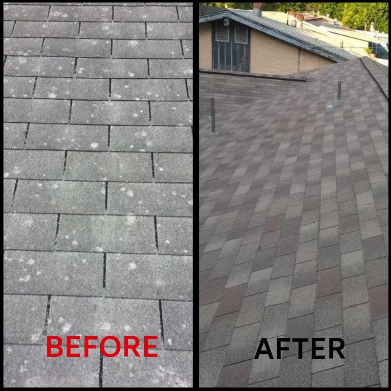 Roof Replacement Before and After 3
