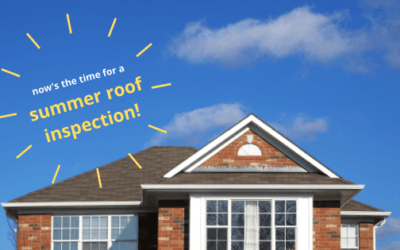 A Summer Roof Inspection Should Be On Top Of Your To-Do List!