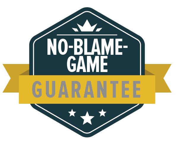 No-Blame Guarantee