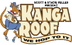 Kanga Roof in Austin Logo