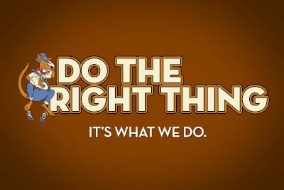 Core Value: Do The Right Thing